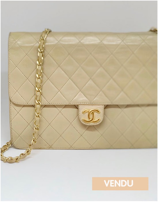 Sac Chanel Timeless beige